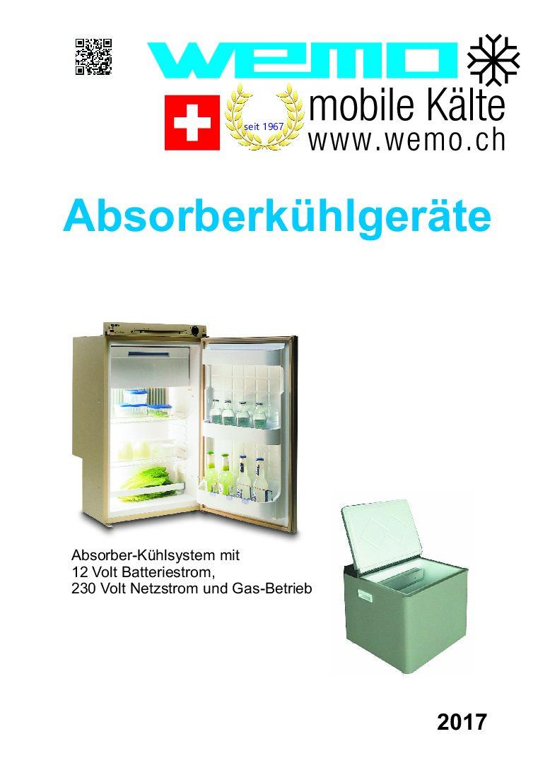WOMO Kühlschränke für Gas