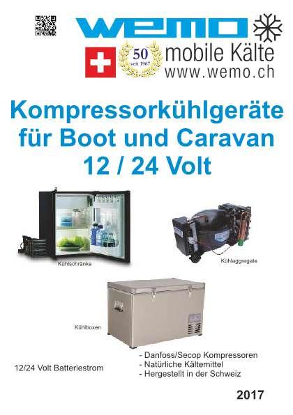 Kompressorkühlgeräte für Boot und Caravan (12/24 Volt)