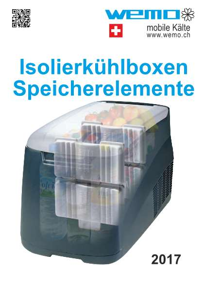 Isolierkühlboxen Speicherelemente