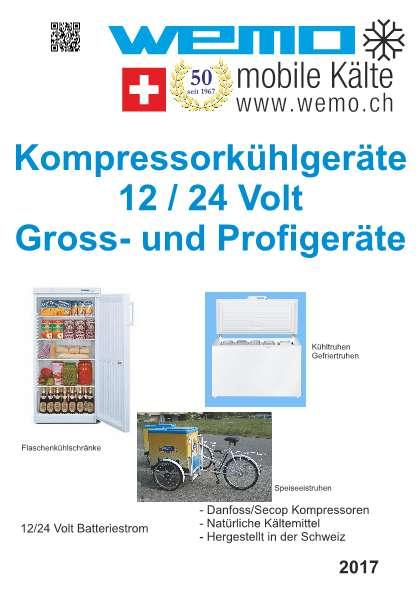 Kompressorkühlgeräte für Gross- und Profigeräte ((12/24 Volt))