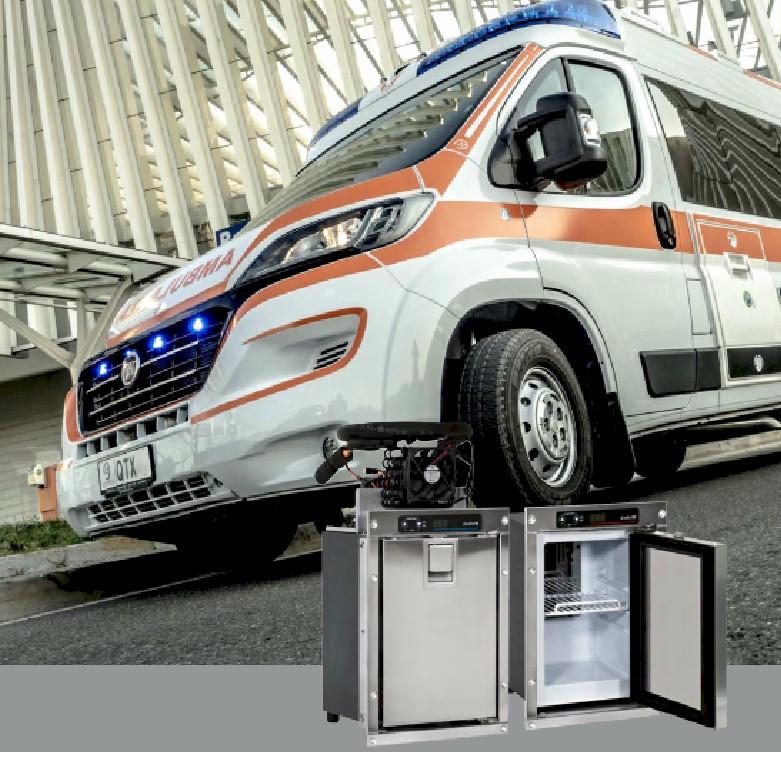 Kühlboxen für Ambulanzfahrzeuge
