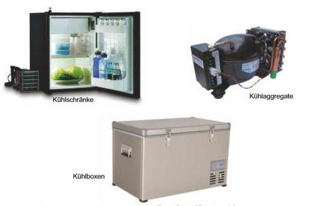 Kühlschrank Für Auto Mit Kompressor : Kühlgeräte kältetechnik mobilen kälte für 12 24 v batteriestrom und