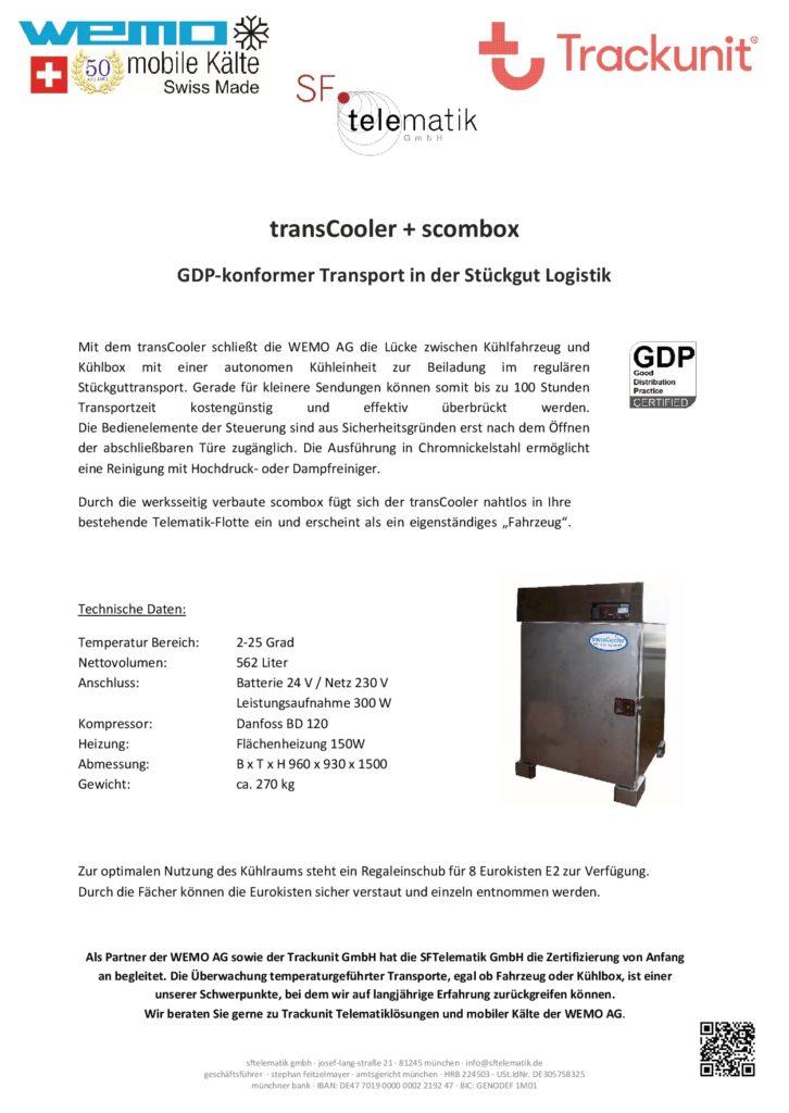 SFTelematik GmbH - Fyler transCooler 1/2